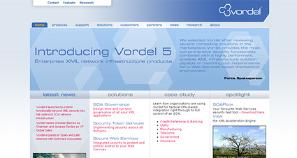 Vordel website