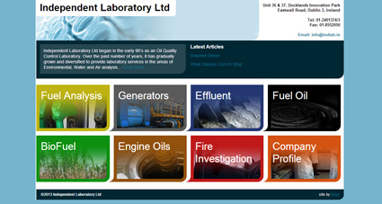Independent Laboratory Ltd website