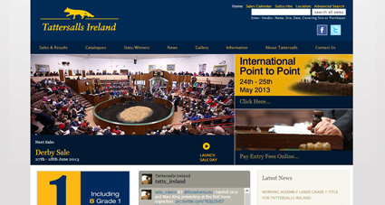 Tattersalls Ireland redesign / CMS